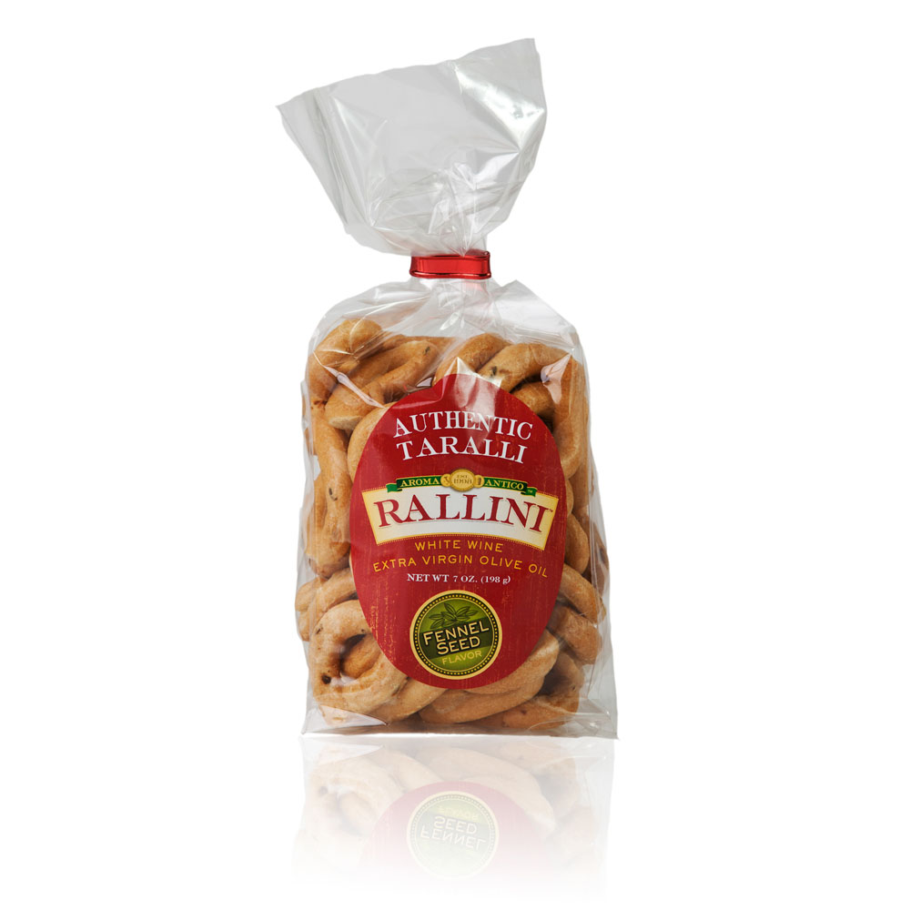 Fennel Rallini Taralli 7oz Bag