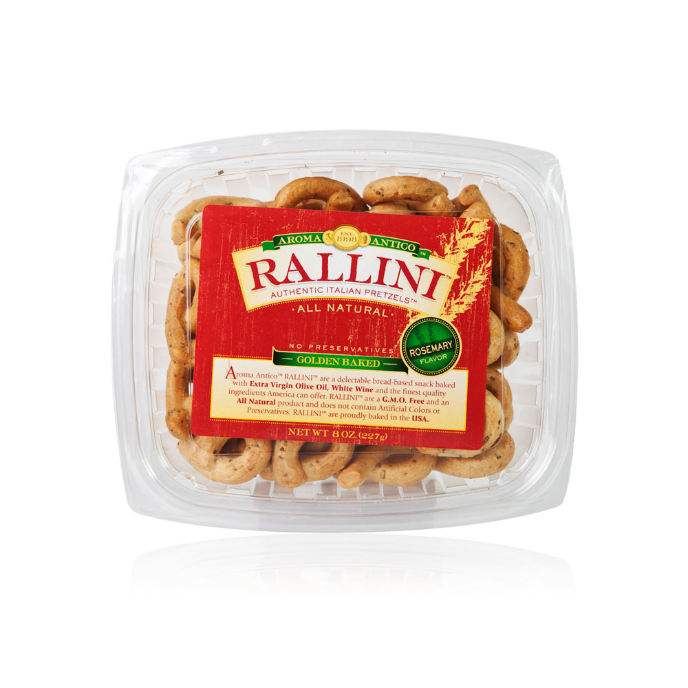 Rosemary Rallini 8 oz. Clear Tub