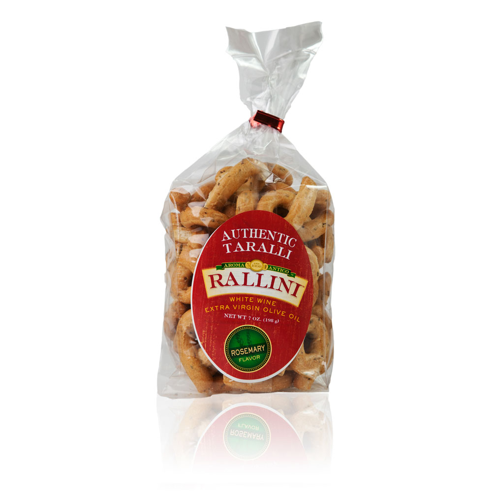 Rosemary Rallini Taralli 7oz Bag
